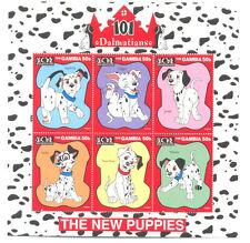Disney Sheet Animation & Cartoon Postal Stamps