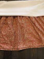 Ralph Lauren San Luca Scroll Queen Bed Skirt
