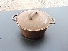 Vintage Taiwan Cast Iron Dutch Oven Pot, 8?
