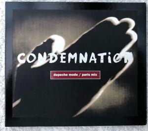 Depeche Mode - Condemnation - CD Single - CDBONG23 - 1993 - Gahan