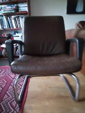 Sedus original 1960s leather armchair