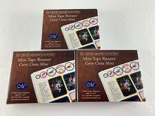 (3) Creative Memories Mini Tape Runner 20 Ft Each Double Sided Self Adhesive NEW