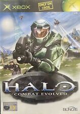 Halo: Combat Evolved Para Microsoft Xbox suministra completo (Free UK Post)
