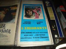L'EMIGRANTE locandina originale 1973 A. CELENTANO C. MORI