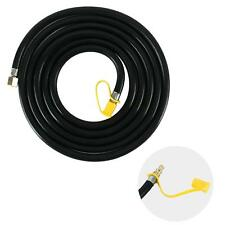 Propane RV Hose 12 Ft- Connect Barbeque to RV LP Gas Line Hose 3/8 Female Flare