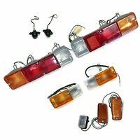 Gire el marcador de freno de cola Juego completo de luces Suzuki Samurai 86-95