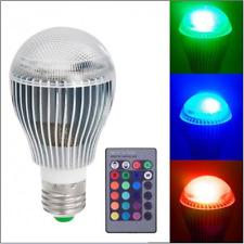 9W E27 Color LED RGB Magic Light Bulb With Wireless Remote