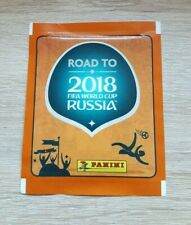 Panini 1 Tüte Road to Russia 2018 WM FIFA World Cup 18 Bustina Pochette Pack