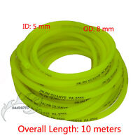 Yellow 10m Fuel Hose Line Pipe 5mm For Pit Dirt Bike ATV Quad Go Kart Motorcycle