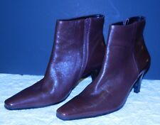 Etienne Aigner FILLY Burgundy Maroon Boots 8.5 M  8 1/2 M ~ EUC!