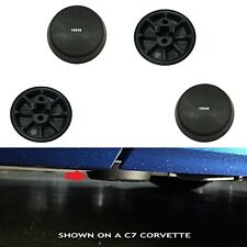 """Corvette Jack Puck Pads """"SNAP IN"""" Support Lift Set of 4 Pads URO PARTS"""