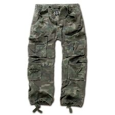 Brandit - Pure Vintage Trouser Woodland Cargohose Outdoor Army Armeehose Hose