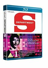 Blu Ray DEPARTMENT S volume 1 one. Peter Wyngarde. New sealed.