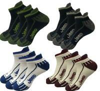 JEEP Cushion Trainer Sock Mens M862 Ankle Mix Navy UK 6-11 Sport Socks BNIP