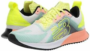 NEW BALANCE Womens Fuelcell Echolucent white yellow blue Running Shoes Size 12