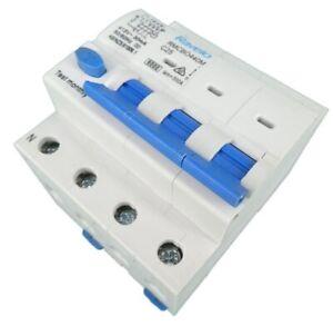 Ravelo RMCBO440M 25 Amp 4 Pole RCBO Safety Switch 6kA