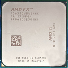 AMD FX-6330 FD6330WMW6KHK 3.6GHz AM3+ 6-Core 8M 95W Processor CPU Piledriver