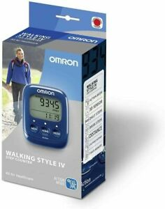 Omron HJ325-EB Walking Style IV Step Calorie Counter Activity Monitor Pedometer