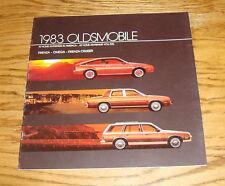 Original 1983 Oldsmobile Firenza Omega Firenza Cruiser Deluxe Sales Brochure 83