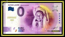 Billet 0 euro Souvenir Myanmar Kayan Lahwi Tribes Of The World MMAA 2021 ANNIV