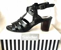 NEW Sandler Quota Nude Leather Sandals Women Shoes | eBay