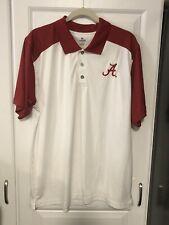 Alabama Crimson Tide Knights Apparel Red White Golf Polo Mens Shirt XL 46/48