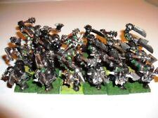 19 Metal Pintada De Negro orcos warhammer orcos y goblins ejercito Edad De Sigmar