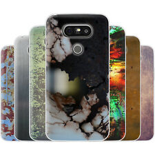 Dessana Metallic Pattern TPU Silicone Protective Cover Phone Case Cover For LG