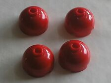 4 x LEGO Red dome top ref 553 / Set 7775 66175 4518 4679 7944 4982 7888 8673 ...