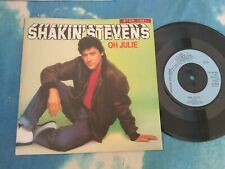 "Shakin' Stevens ‎– Oh Julie Epic ‎– EPC A 1742 NEAR MINT VINYL UK 7"", Single"