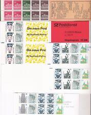 sellos Alemania carnet varios