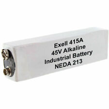 Exell Battery 415A 45V Alkaline Battery (180 mAh) - Replaces 30F20, BLR102, A415