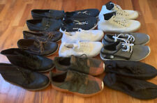 Lot 9 Pairs Of Men's Shoes All Size Nine M Athletic Tennis Dress Casual Boots Us