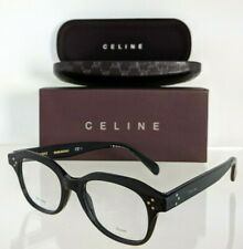Brand New Authentic Celine Cl 41457 Eyeglasses 807 Black 47mm Frame CL41457