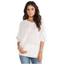 360 CASHMERE Skull Hemp Hoodie Sweater Size: Medium Retail $368 (NWT)