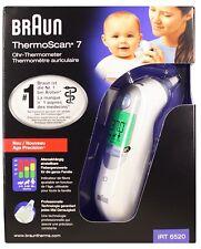 Braun Thermoscan 7 IRT 6520 Ohrthermometer NEU PZN 10216818