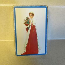 VINTAGE MISS AMERICA PLAYING CARDS WITH TONI PERM ADVERTISING ACES!