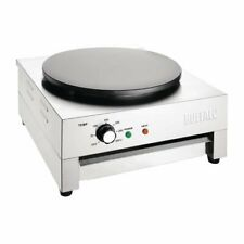 More details for buffalo crepe maker plate diameter 400mm 3kw - ct931  catering cafe