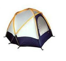 REI Geo Mountain Gold Blue White Geodesic Dome One Tent W/ Covering