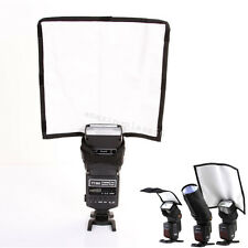 Speedlight Reflector Snoot Sealed Flash Softbox Diffuser Bender Beam Muti-effect