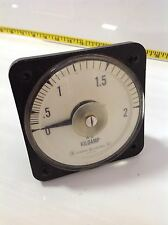 General Electric 0-2 Kiloamp Gauge