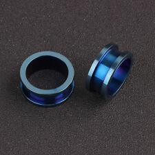 Ear Tunnels Steel Fashion Punk Ear Gauge Screw Fit Unisex Piercing Body Ear Plug