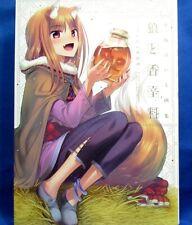 Keito Koume Illustratons Spice & Wolf The Tenth Year Calvados /Japanese Art Book