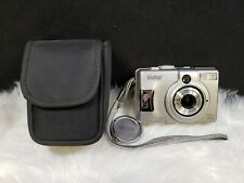 Vivitar ViviCam 3935 5.0 MP Digital Camera - Silver, Bundle
