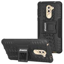 AMZER Impact Resistant Hybrid Warrior Kickstand Case for Huawei Honor 6X 2016