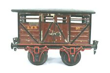 201A: Vintage Märklin Gauge1 GNR Cattle Wagon 2886