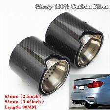 4Pcs Carbon Fiber Exhaust tip For BMW M Performance exhaust pipe M2 F87 M3 F80