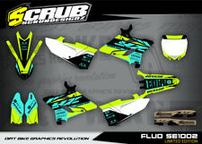 Yamaha graphics YZ 125 - 250 2015 2016 2017 2018 2019 '15-'19 SCRUB decals