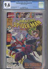 Amazing Spider-Man Annual #24 CGC 9.6 1990 Marvel Comics Antman App :New Frame