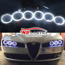 For Alfa Romeo 159 2005-2011 LED Angel Eye Halo Rings Headlights 95mm 90mm 85mm